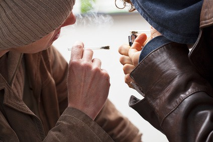 Marihuana - palenie
